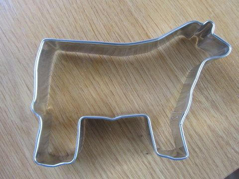 Show Steer Cookie Cutter by TheBrandedBarn on Etsy, $4.00