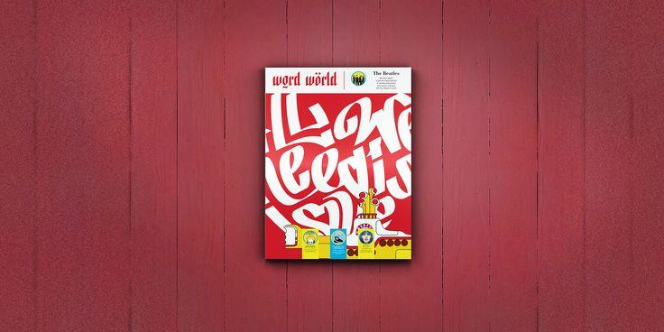Word World Magazine Cover