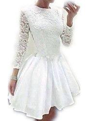De las mujeres Vestido Sobre la rodilla - Encaje/... – CLP $ 11.348