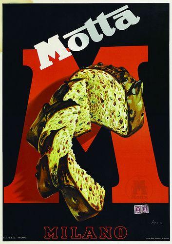 Severo Pozzati (Sepo).Pubblicità Motta, 1934 #Italian #Vintage #Poster via flickr