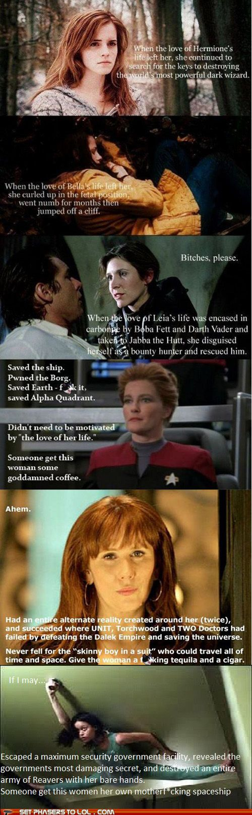 Donna Noble and River Tam, ladies and gentlemen