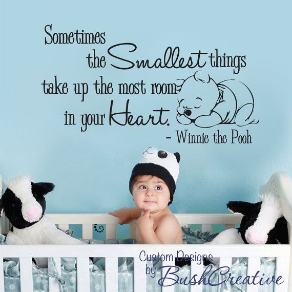 Winnie The Pooh Quotes Sometimes The Smallest Things: 17 Best Images About Sayings