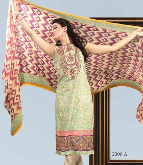 Dhanak Embroidered Lawn Collection ST_2006_A