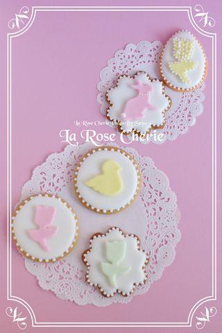 デコレーション教室 La Rose Cherie(ラ・ローズ・シェリー) -イースター アイシング