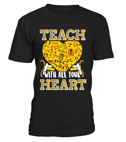 """# Teach With All Your Heart-Teacher Appreciation Funny T-Shirt .  Special Offer, not available in shops      Comes in a variety of styles and colours      Buy yours now before it is too late!      Secured payment via Visa / Mastercard / Amex / PayPal      How to place an order            Choose the model from the drop-down menu      Click on """"Buy it now""""      Choose the size and the quantity      Add your delivery address and bank details      And that's it!      Tags: Teach With All Your…"""
