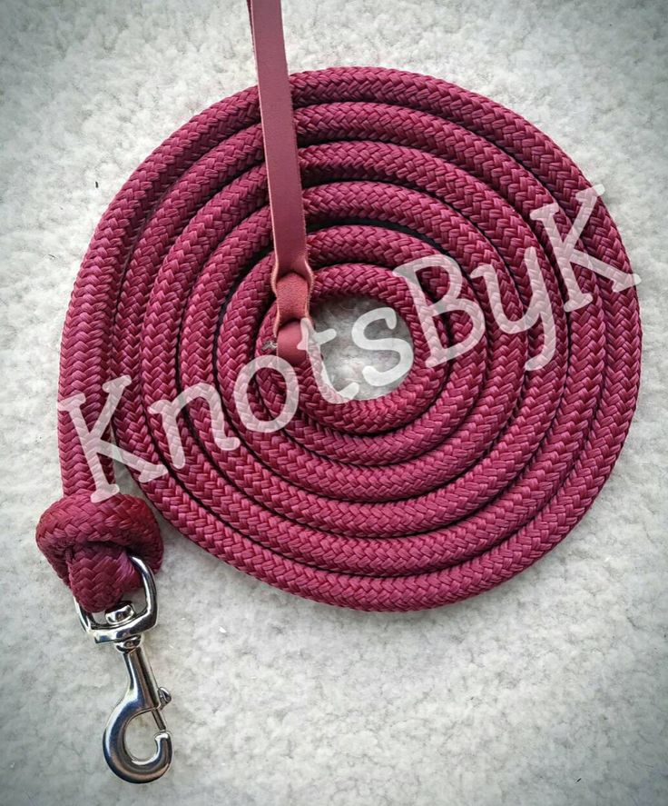 Yacht Rope Lead with Leather Popper by KnotsByK on Etsy https://www.etsy.com/listing/527923271/yacht-rope-lead-with-leather-popper