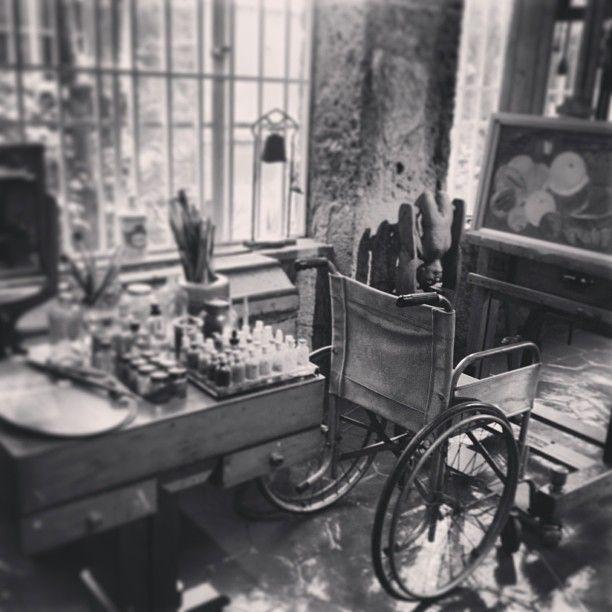I also visited Frida Kahlo's studio/house, which was amazingly inspiring.  #Fridakhalo #history #art