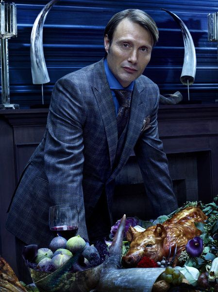 Dr. Hannibal Lecter invites you to dine: Thursday, April 4 - 10/9c on NBC. #Hannibal
