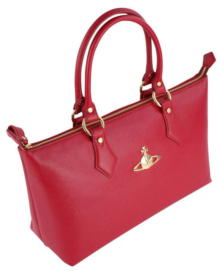 Shop for Vivienne Westwood Divina Bag - Red at KJ Beckett. Free UK delivery  and fast/low-cost overseas shipping.