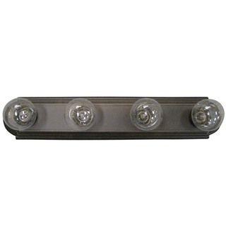 Olde Bronze Transitional 4-light Bath/ Vanity Light | Overstock.com Shopping - Top Rated Aztec Lighting Sconces & Vanities