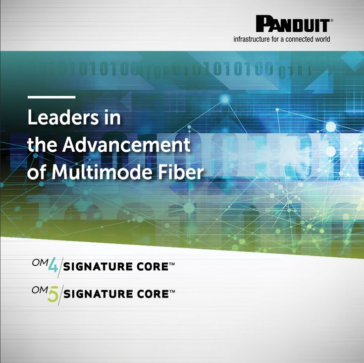 """#Panduit Leaders in the Advancement of Multimode #Fiber Optic Structured Cabling Design """"FBEB04--SA-ENG"""" 11.2017 https://pages.panduit.com/rs/349-EQI-366/images/OM4%20OM5%20EbookNA-Web.pdf"""