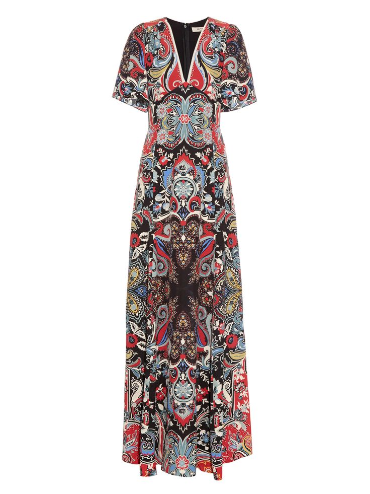 ETRO  Paisley-print silk maxi dress $2,939