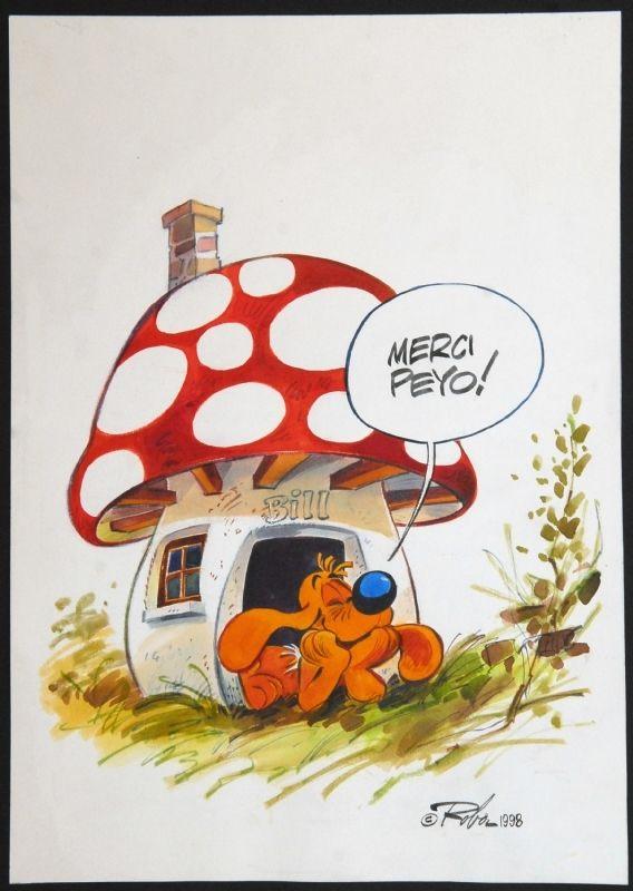 Boule et Bill par Roba - Illustration