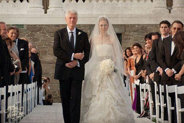 Chelsea Clinton #bodas #elblogdemaríajosé #velonovia #noviavelada #ceremoniaboda #weddings #brides