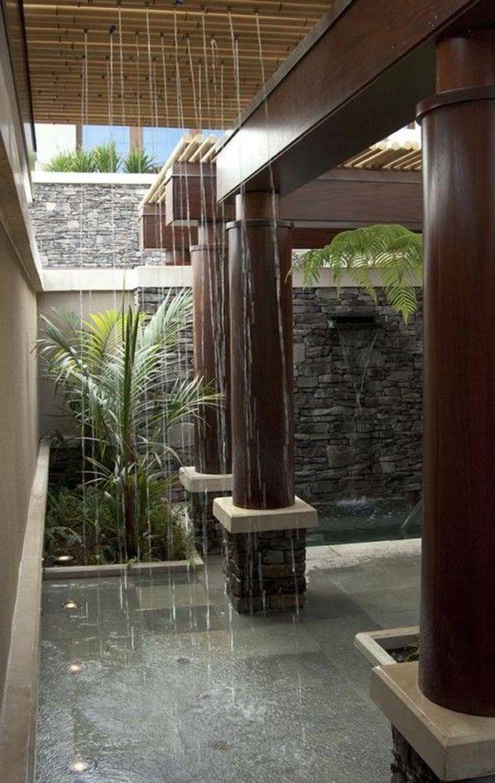 exotique salle de bain avec meuble salle de bain alinea