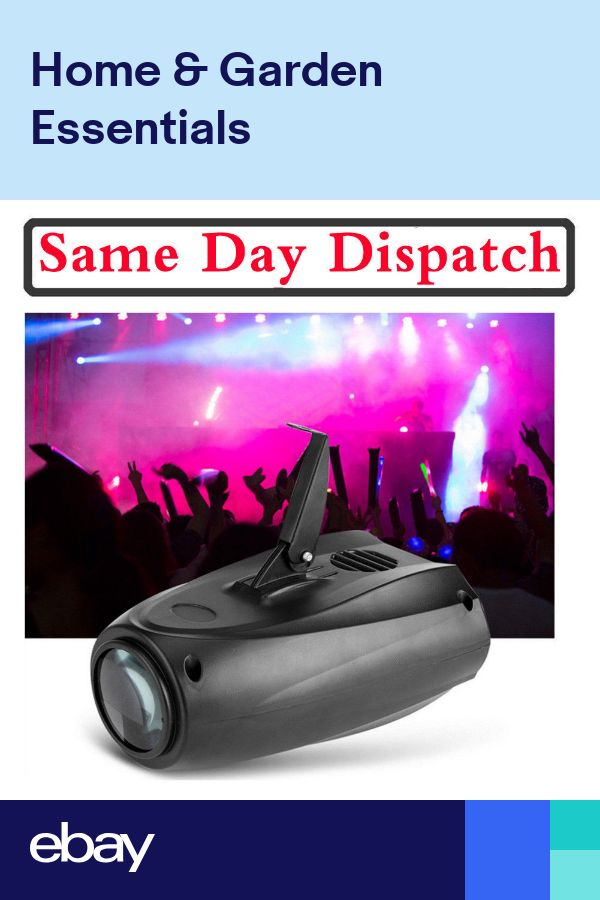 10W LED RGBW Laser Party Effect Stage Light DJ Disco Club Lamp Sound Active HH