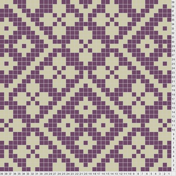 Knitting Stitch In Crossword : 220 best Charted Designs - All Over images on Pinterest Knitting charts, Fa...