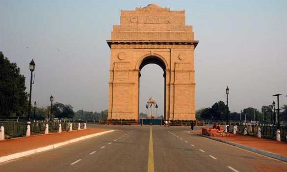"""India Gate is designed by Sir Edwin Lutyens Built in 1921 officially known as the """"All India War Memorial"""". On the eve of Republic Day i.e. 26th of January, a grand parade has been exercised."""