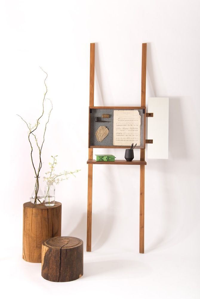 priscilla regal holz retro modernes design gradosei formabilia