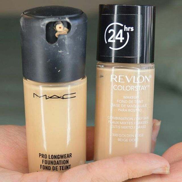 The only foundation that doesn't destroy my skin is also a great Mac dupe!