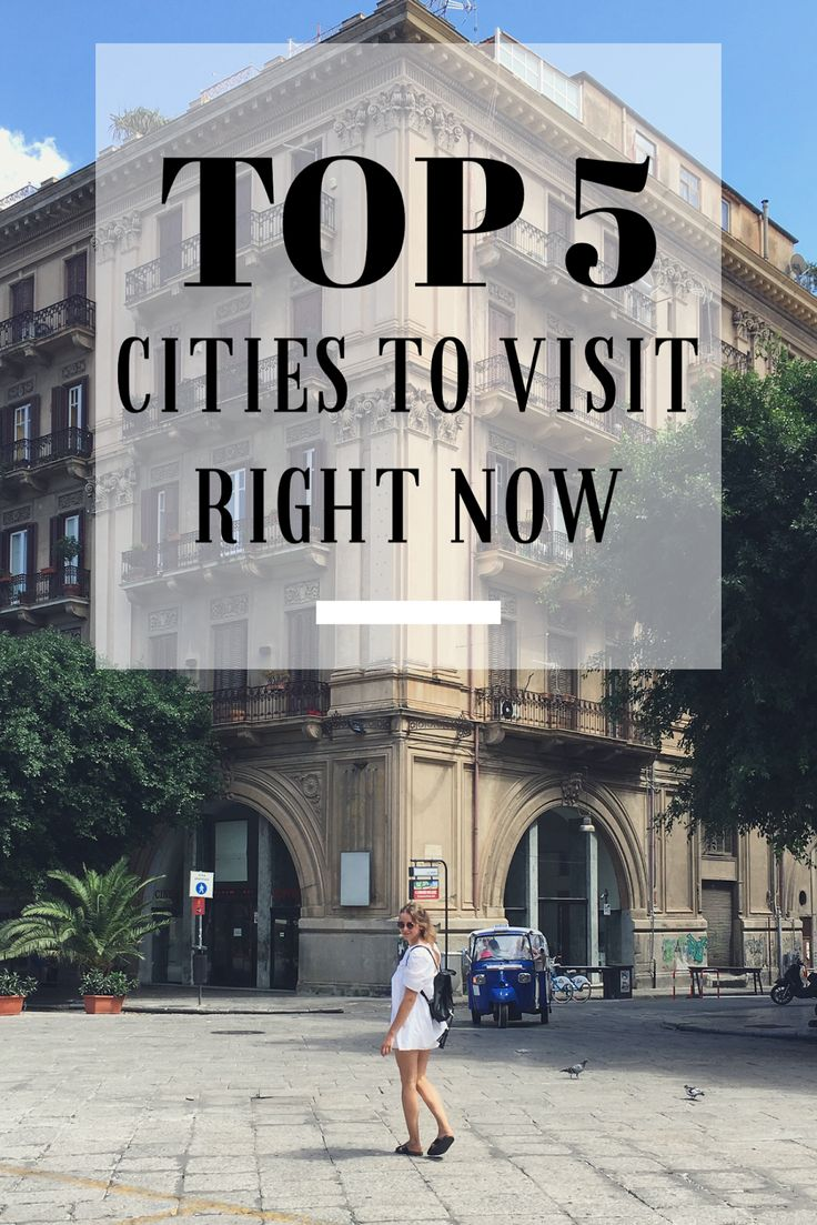 MY TOP 5 CITIES TO VISIT RIGHT NOW The first selection of the best cities I have visited so far. My travel tips and trick on the blog :) www.ejnets.com #traveltips #tips #travelblog #lisbon #portugal #palermo #italy #newyork #sevilla #spain
