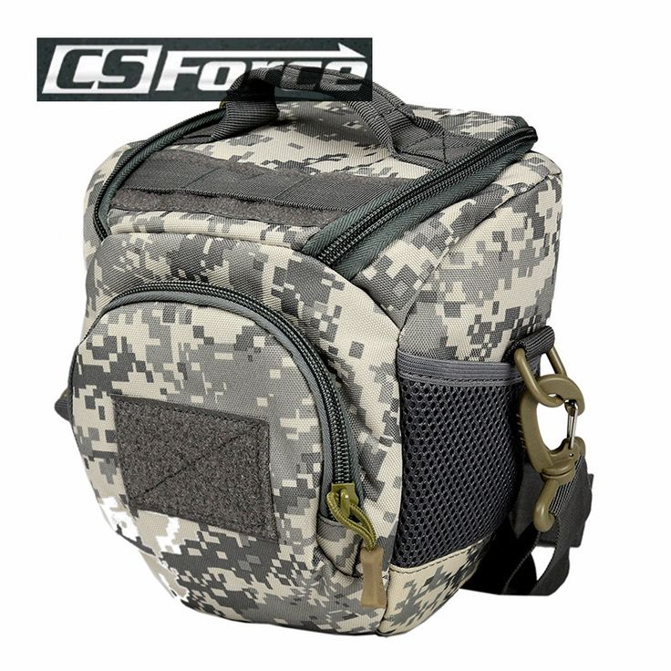 CS Force Camera Video Protector Bag Small GoPro Bag Case Camera Video Photo Camera Case Bag Men Hunting Camouflage Camera Bags