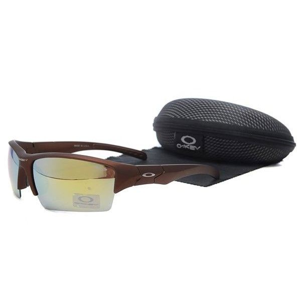 oakley flak jacket womens sunglasses  $13.99 cheap oakley flak jacket sunglasses yellow blue iridium brown frames online deal racal