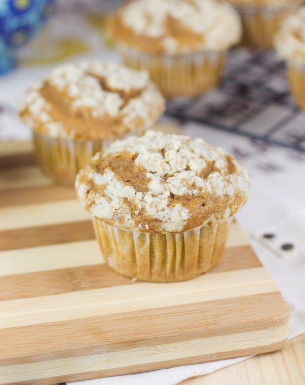 Muffins especiados de calabaza - Objetivo: Cupcake Perfecto.