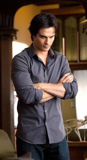 Ian Somerhalder as Dominic talking with Emerson about possibilities of afterlife