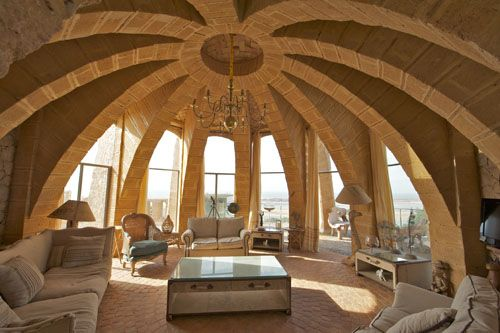 Stone Vaults,Elie Mouyal, Marrakech, Morocco, Africa, salon