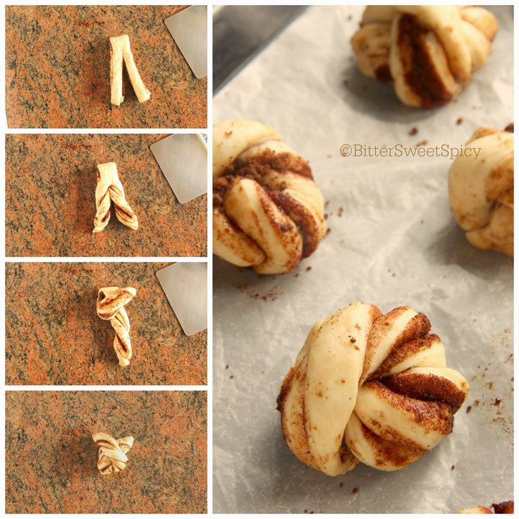 Bread Shaping Technique - Swedish Cinnamon Buns