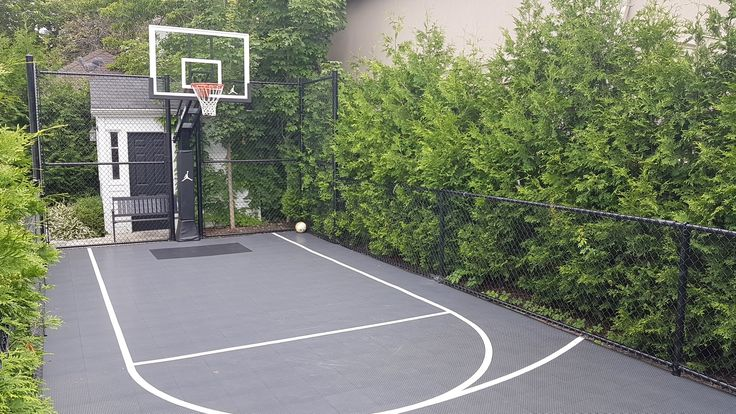 25 best backyard basketball court ideas on pinterest for Cheapest way to make a basketball court