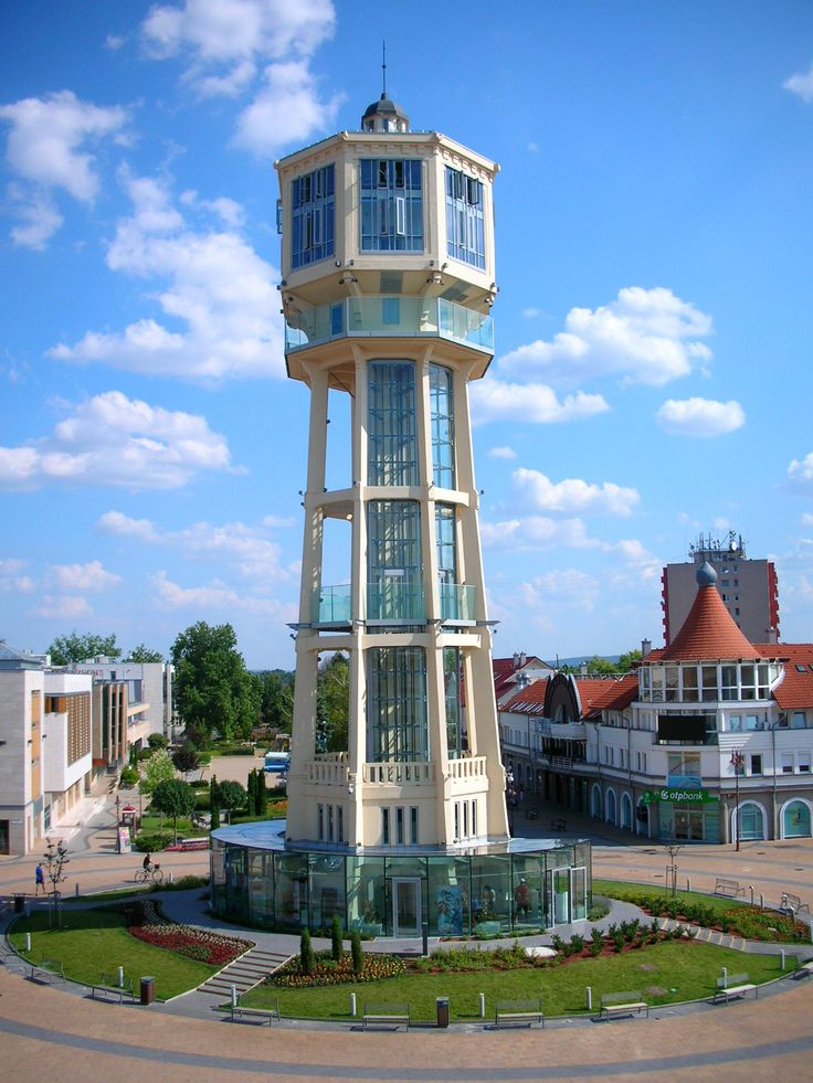 Víztorony / Water tower - Siófok - Hungary.