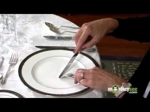 Basic Dining Etiquette - Using Utensils, video 7 of 16