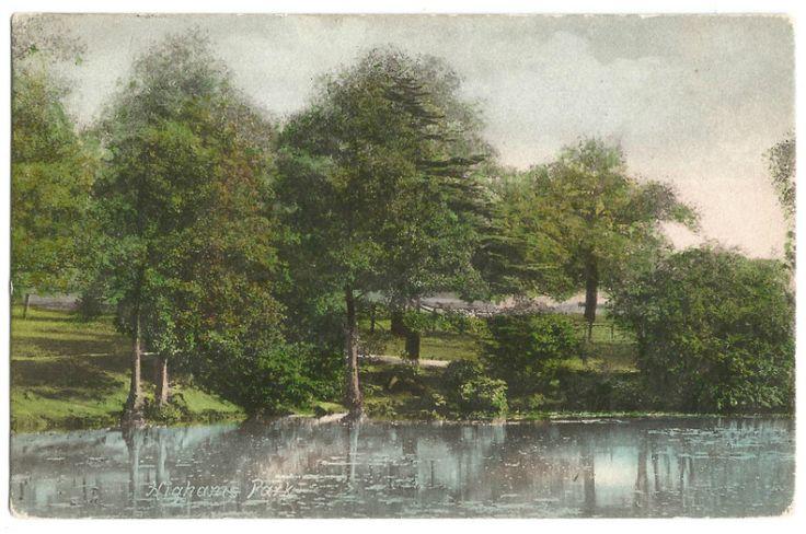 Higham Park.Waltham Forest. London c1900.Postcard