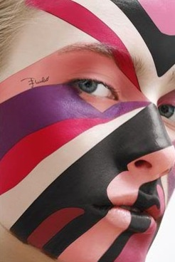 by make up artist Elizabeth Ulloa