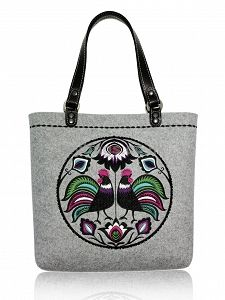 GOSHICO embroidered tote bag NEW FOLK http://mybags.co.uk/goshico-embroidered-tote-bag-new-folk-532.html