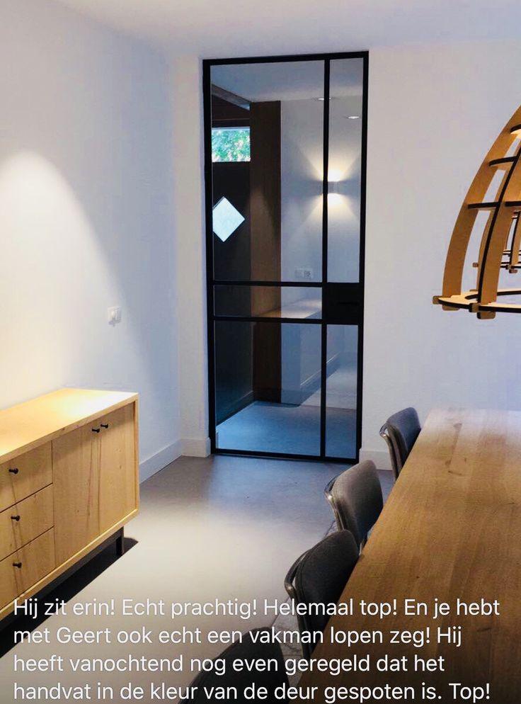Mooie reactie op de door ons geleverde stalen deur... #stalendeur #taatsdeur #industrieledeur #dehoutfabriek #maatwerk #westbroek #design