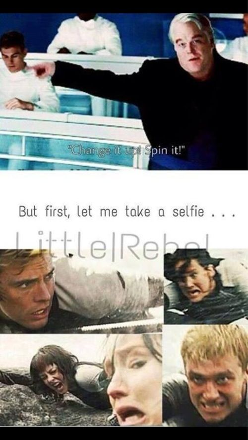 Lol haha funny pics / pictures / Hunger Games Humor / Selfie / Hashtag / Catching Fire / Peeta / Katniss / Finnick / Johanna