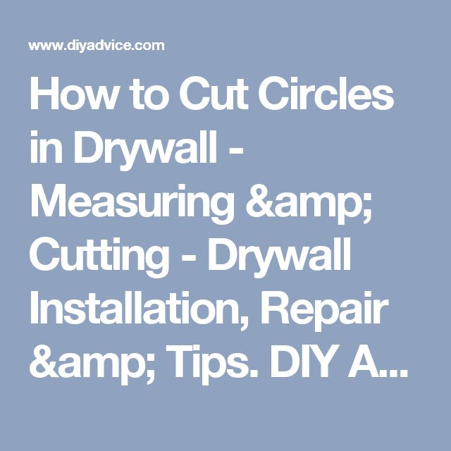 17 Best ideas about How To Install Drywall on Pinterest ...