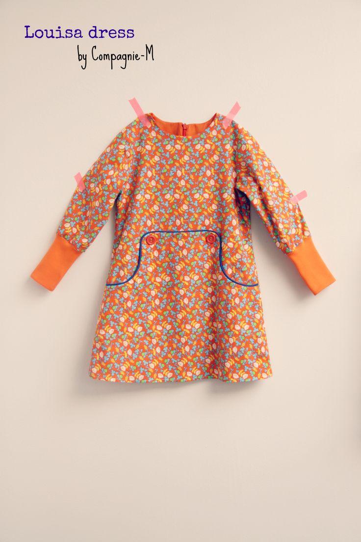 DIY - sew - Louisa dress adjusted at the sleeves