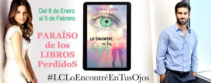 La lectura conjunta de enero fue Lo encontré en tus ojos de Andrea López. Una novela romántica con alta carga erótica en la que los personajes secundarios de No sin ti, primera novela de la autora,…