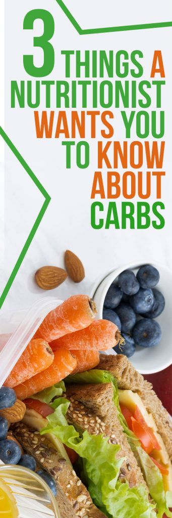 Several myths about carbs