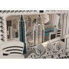 Mon Petit Art 3D színező - New York Mon Petit Art - 3D New York