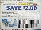 coupons for laundry detergent uk
