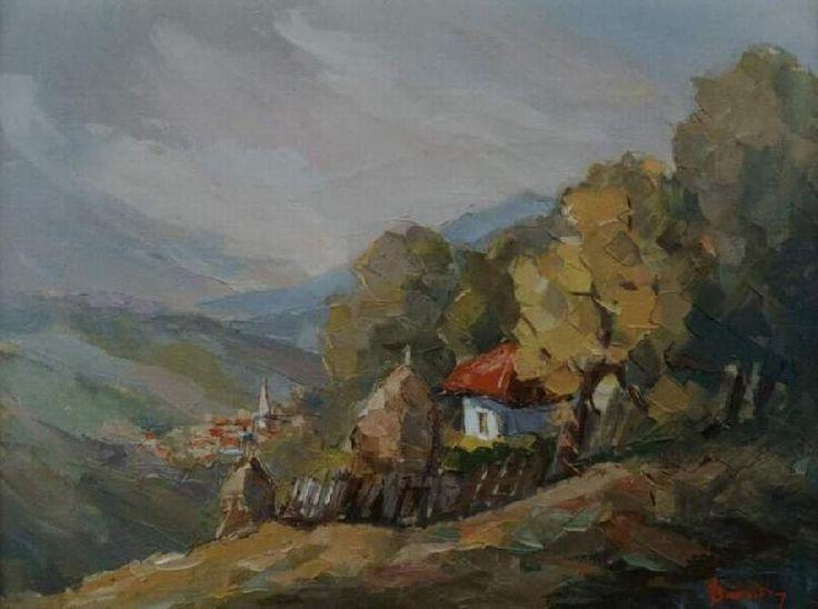 Andrei Branisteanu  - Pe Muchia Dealului