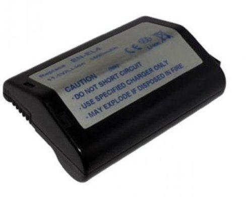 11.1V 2200mah Li-ion Nikon EN-EL4, EN-EL4a, EN-EL4e Replacement Li-Ion Battery for NIKON D2H, D2Hs, D2X, D2Xs, D3, D3S, F6 Digital Camera - [Grade A battery cell with 12 Months Warranty]