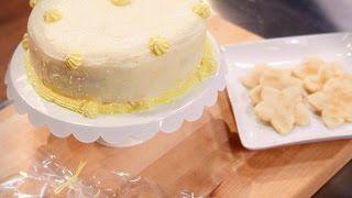 Hollis' winning cake from Kids Baking Challenge.