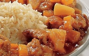 Svinekød i sur-sød sauce Den klassiske kinesiske sur-søde sauce - herligt. Kan også bruges til fx indbagt kylling og rejer.