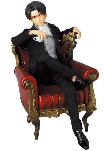 Attack on Titan figurine RAH 1/6 Levi Suit Ver. Medicom